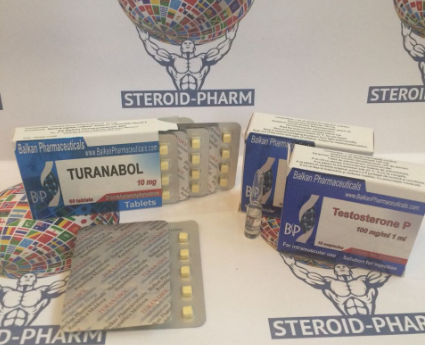 Turanabol oral + Propionate